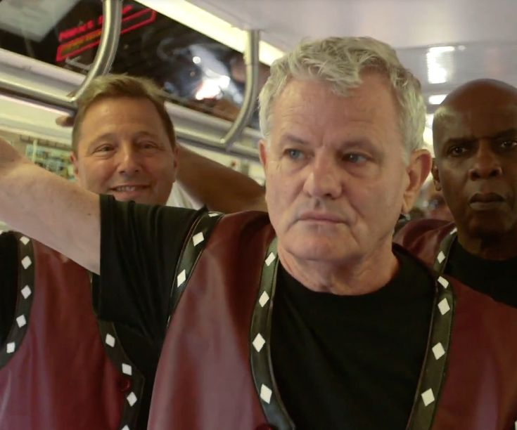 Here's something to dig: On Sept. 13, the cast of The Warriors, Walter Hill's cult classic 1979 film about New York street gangs, reunited for one last subway ride to Coney Island.