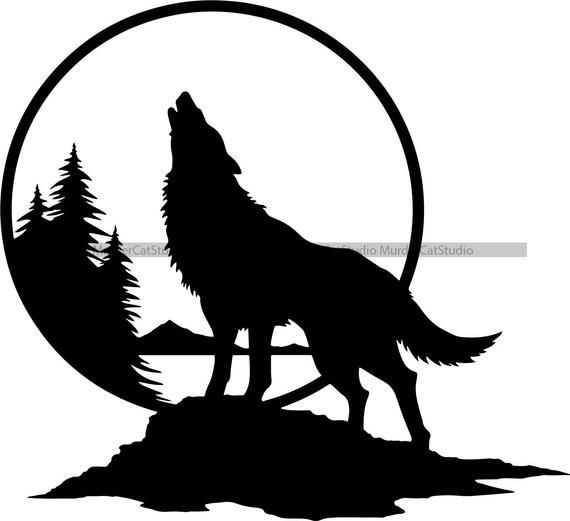 Pin On Wolf Svg