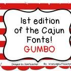 FREE FONT-This is my first edition of fonts for teachers.  I am from the south, so I am going to name the fonts with cajun names.  This first font is called:...