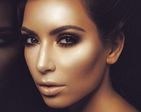 Hollywood Makeup Icons - Kim Kardashian