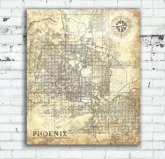 Phoenix Usa Map: 25+ Best Ideas About Phoenix Arizona Map On Pinterest
