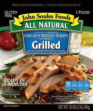 WIN John Soules Foods All Natural Grilled Chicken Breast Strips! To qualify simply watch this week's Recipe Video with Chef Lance Youngs and leave a comment on our Youtube channel! A winner will be announced next Monday! Click on image to watch video.