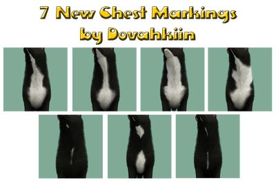 chest markings - by Dova Creations