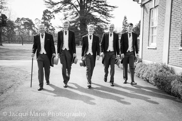 The guys looking at their best at Warbrook House by Hampshire wedding photographers Jacqui Marie Photography. VISIT http://jacqui-marie-photography.co.uk for details