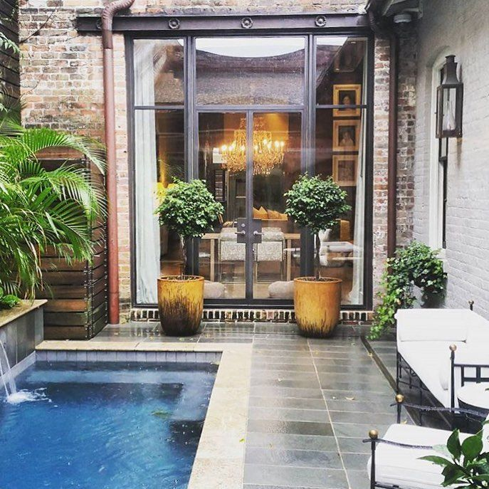 17 best images about favorite french quarter courtyards for Pool design new orleans