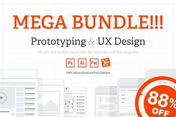 [MEGA BUNDLE] All Web & Mobile Tiles - Product Mockups - 1
