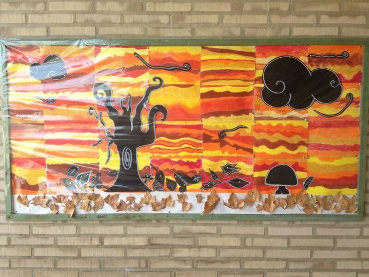 Mural Otoño curso 2013-14