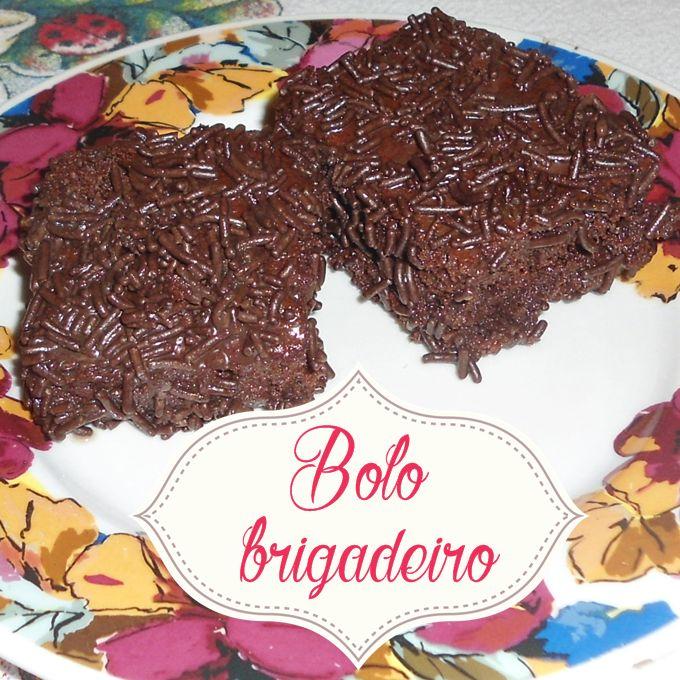 Bolo-brigadeiro: o melhor bolo de chocolate do mundo - * Elaine Gaspareto *