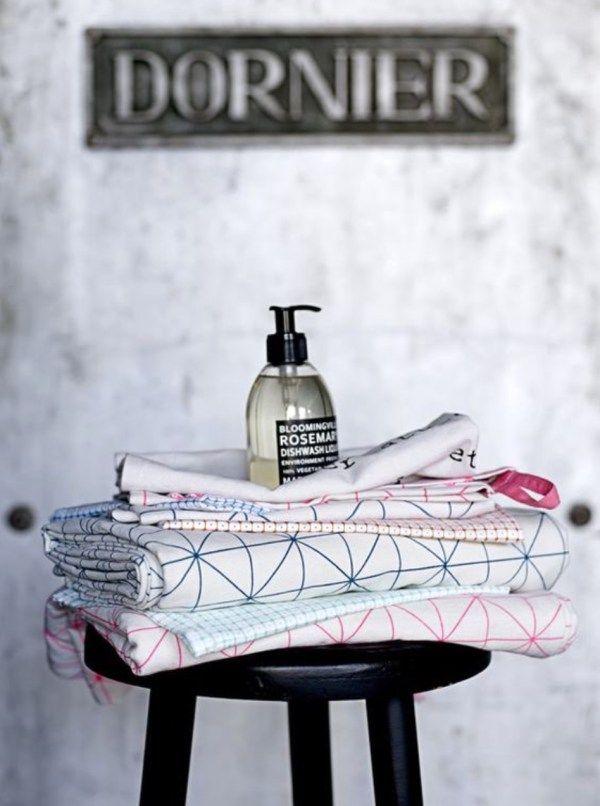 ESSENTIALS, Tea Towels: Kitchen Essentials