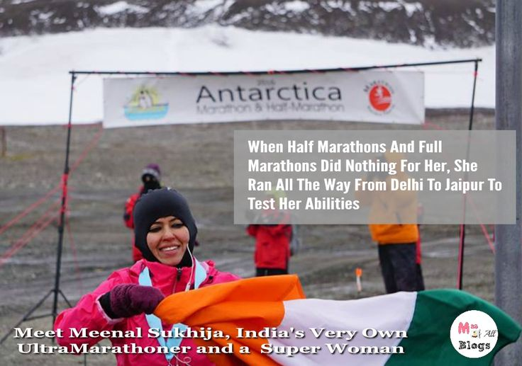 When Half Marathons And Full Marathons Did Nothing For Her She Ran All The Way From Delhi To Jaipur To Test Her Abilities