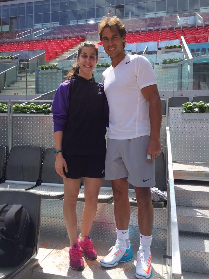 ¿Cuánto mide Carolina Marín? - Altura - Real height C9035f7bed6719be976a2eb93f441081--tennis-stars-rafael-nadal