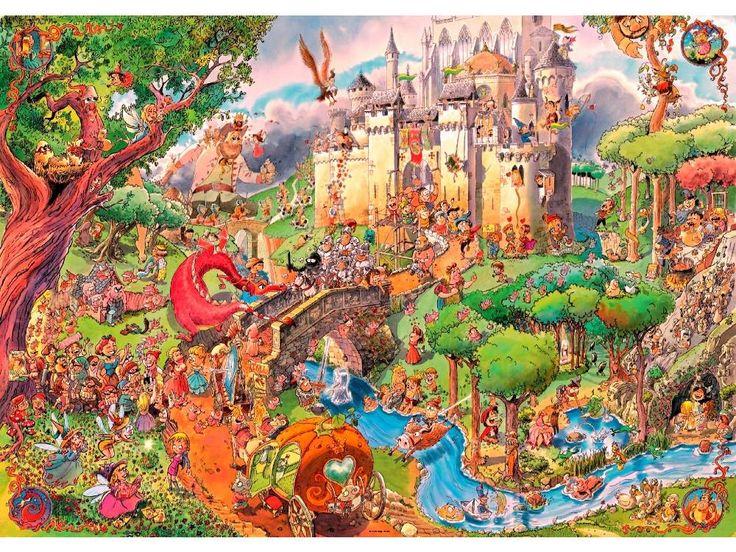 Heye Puzzle - Prades, Fairytale