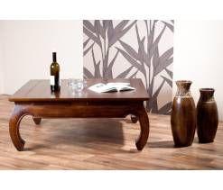 Stoliki kawowe i ławy drewniane - Mandallin - Meble indyjskie i kolonialne
