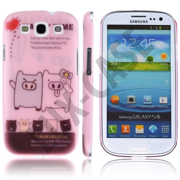 Cuties (Making Faces) Samsung Galaxy S3 Deksel
