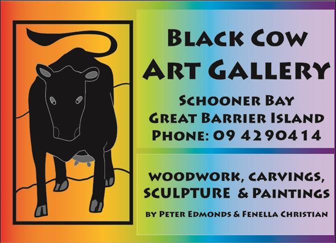 Black Cow Art Gallery, Great Barrier Island, Hauraki Gulf, New Zealand