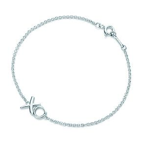 Tiffany & Co.   Item   Paloma Picasso® Love & Kisses Mini Bracelet in sterling silver, medium.   United States