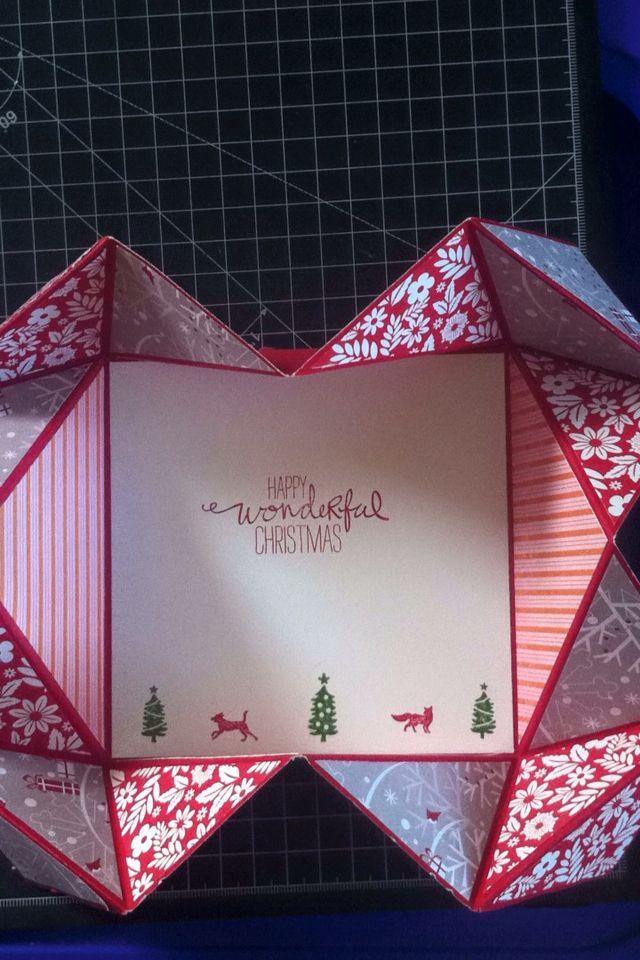 Christmas card made for a dear friend