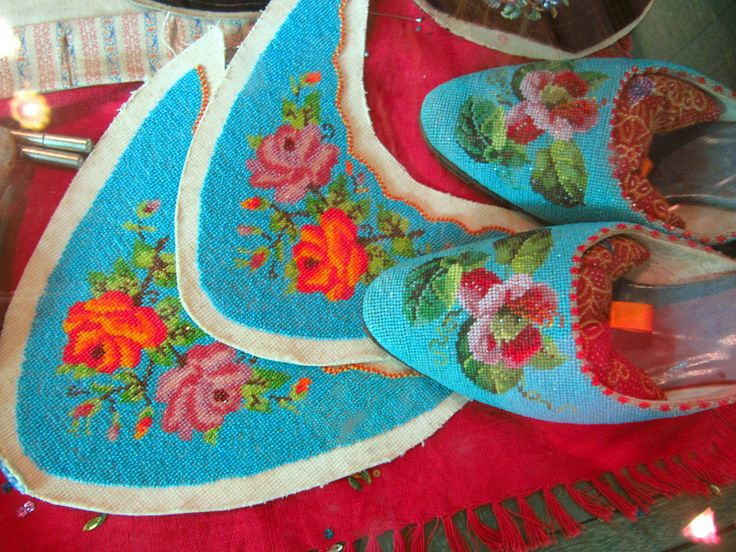 Beaded Shoes | There's a nice little collection of beaded sh… | Flickr
