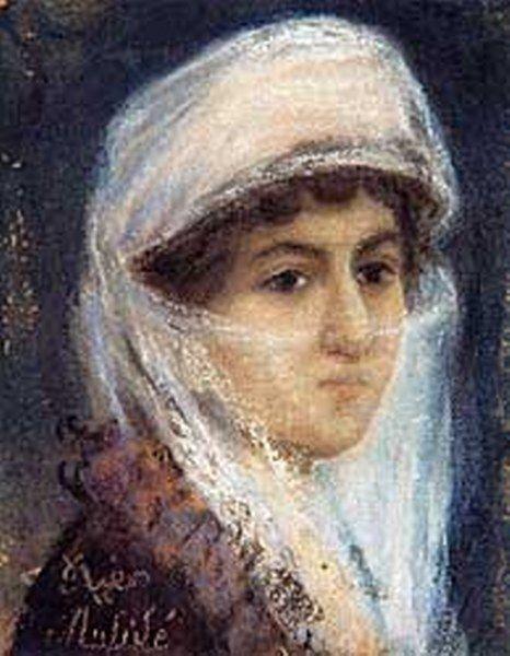 Otoportre  Müfide Kadri, 1890 - 1912 yılları arasında yaşamıştır...