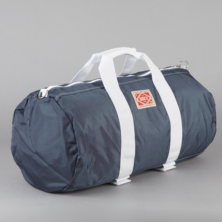 Obey Commuter Duffle Bag Navy