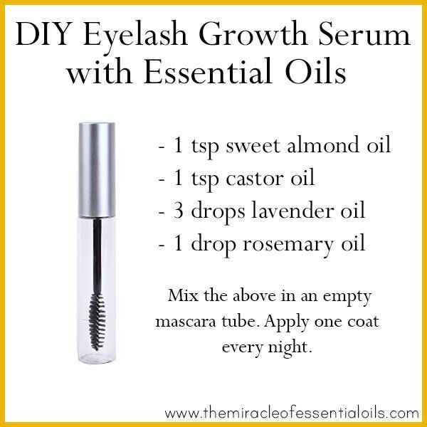 diy essential oil eyelash growth serum