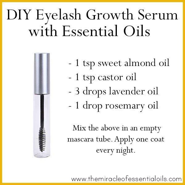 diy essential oil eyelash growth serum