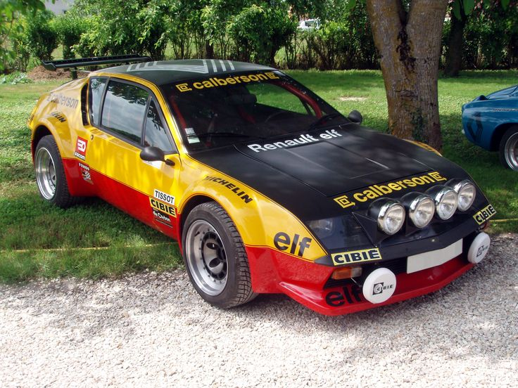 Renault Alpine A310 V6 Rally Car Classic Cars Pinterest