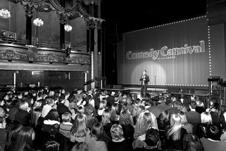 Fourth Contest: Win a Comedy Night for Two in UK