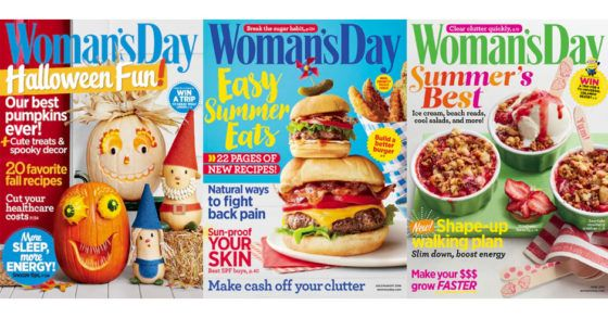 Womens Day subscription only $4.95 a year  Be inspired with Womans Day Magazine  Get an 89% off on your annual subscription on Womans Day magazine at Discount Mags today and tomorrow only. Use this promo codeFABULESSLYFRUGALto avail this discount. This is available for 1 to 4 years annual subscription.  Womens Day subscription only $4.95 a year  Click to get this deal  Thanks http://ift.tt/1lJoyYt  The post Womens Day subscription only $4.95 a year appeared first on Fabulessly Frugal.