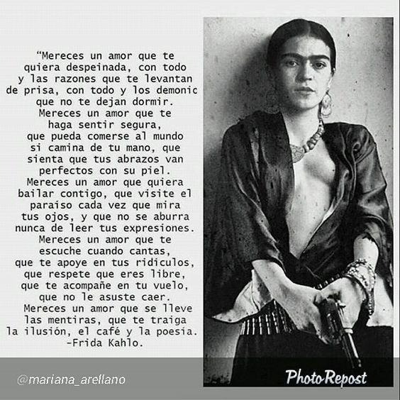 Así es. NEVER set for less, @varreaza, @kellyhaiders, mujeres del mundo. A un día del aniversario del nacimiento de #Frida :) #love #woman #latinamerican #femail #mujerón