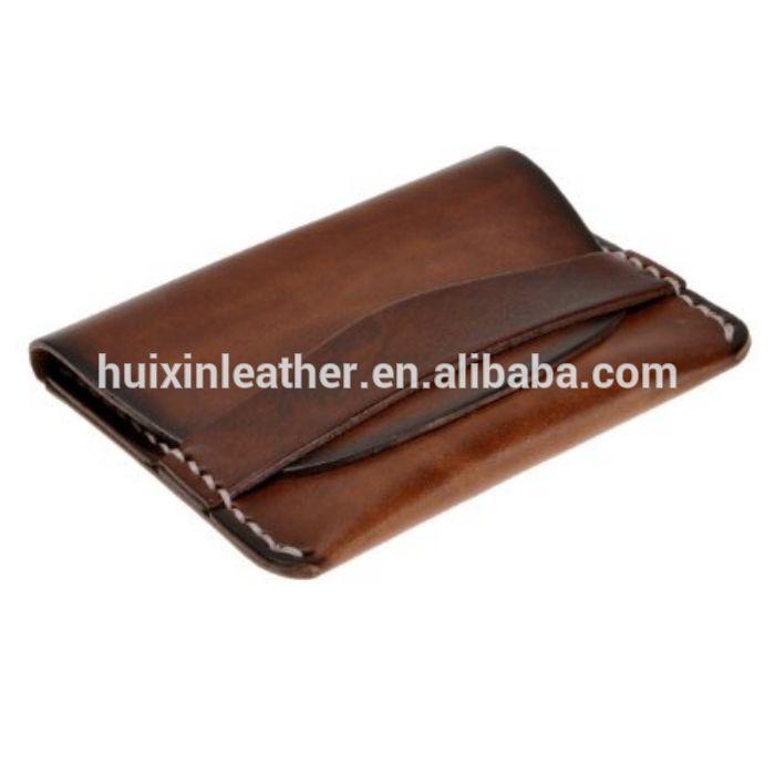 Цвет растительного дубления кожаный бумажник портмоне унисекс тонкий кредитные карты держатель тонкий кошелек-изображение-Бумажники-ID товара::60379413203-russian.alibaba.com