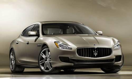 #Maserati #Quattroporte. La berlina 3 volumi dal frontale aggressivo e carrozzeria sinuosa.