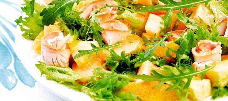 Savukalkkunasalaatti | Pääruoat | Reseptit – K-Ruoka