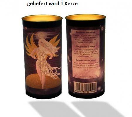 Kerze Die Göttin der Magie mit Affirmation | Esoterikmarkt24 - Jacqueline Hübner