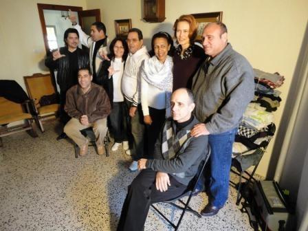 Materiálna zbierka pre rodiny kubánskych disidentov