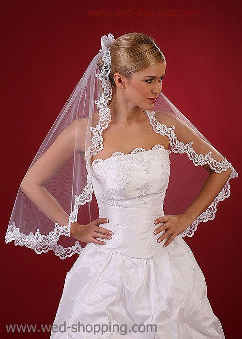 Bridal Veil - lace - Spanish style