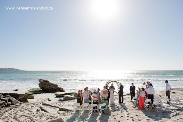 Great beach wedding venue - Grootbos Nature Reserve in the Overberg.