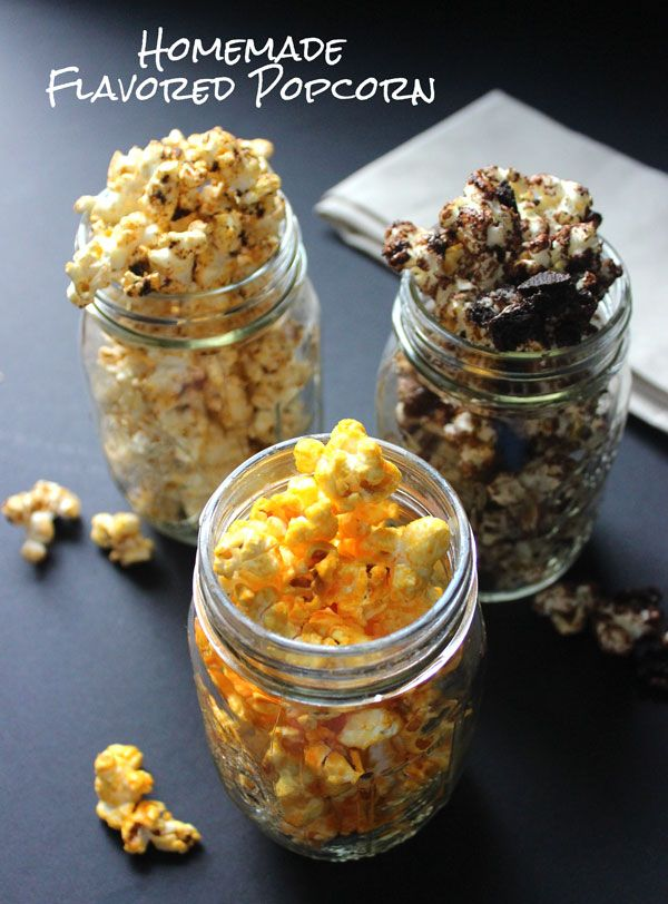 Stop playing candy crush and crush some candy instead!! These flavored popcorn recipes are fun to make, fun to eat, and kid friendly too.