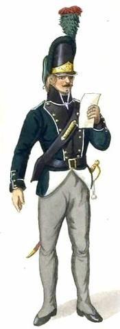 Danish Jagers 1812 Schelswig Grenadier