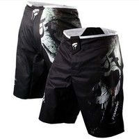 Wish | 2017New MMA Short Man's Boxing Shorts Muay Thai Boxeo Shorts black Fight Trunks Taekondo Sports Trunks Kick Boxing shorts