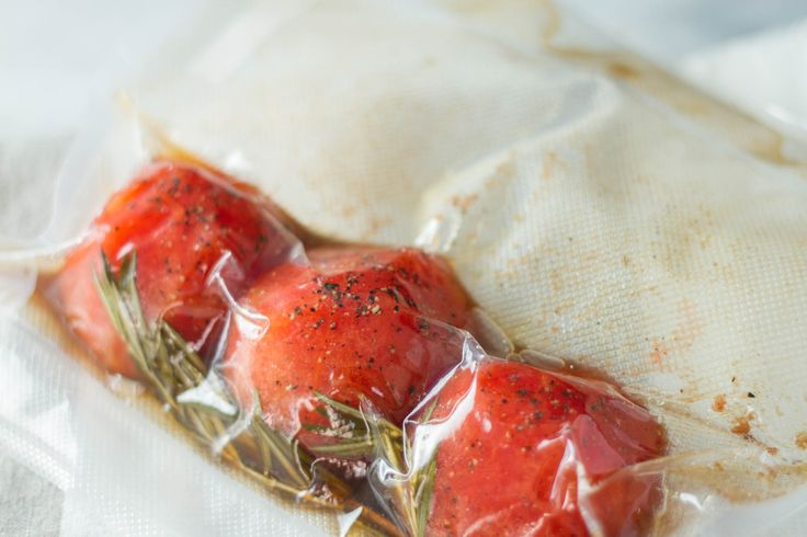 Sous Vide Tomato Confit - Anova