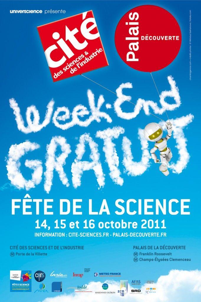 Fête de la science 2011 - Cité des sciences et de l'industrie, Palais de la découverte, Paris