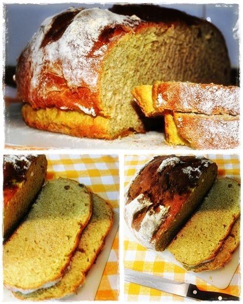 Sweet Gula: Pão de Abóbora com Nozes