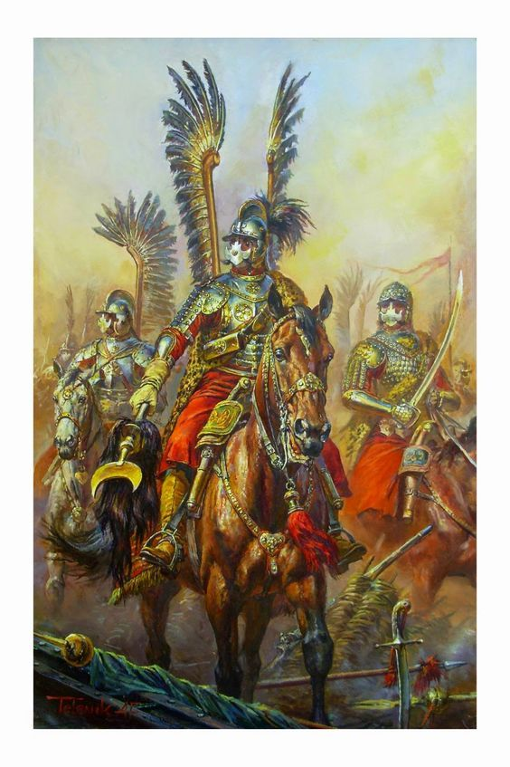SOLDIERS- Telenik: Polish Winged Hussars, by Anatoly F. Telenik.