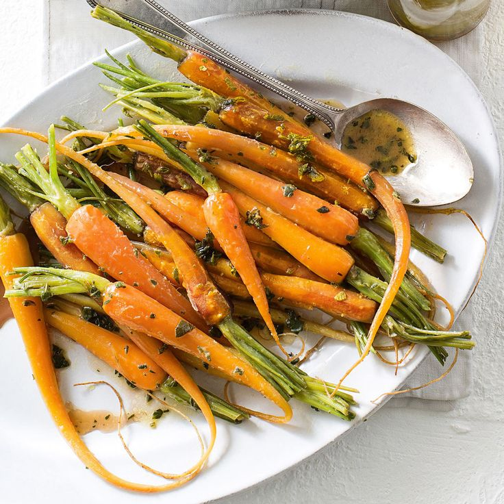 These Hot, Honeyed Carrots are the ultimate side dish.