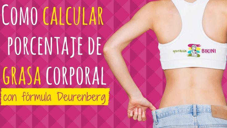 Como calcular porcentaje de grasa corporal