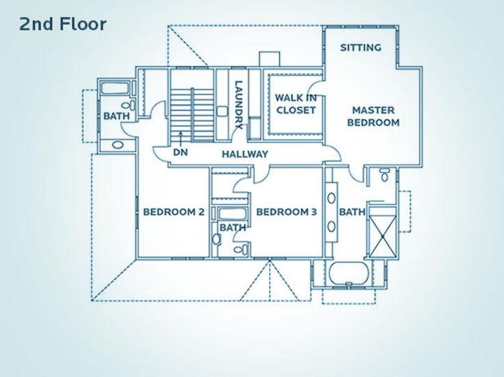 17 Best Hgtv Dream Home Floor Plans Images On Pinterest House Design House Floor Plans And
