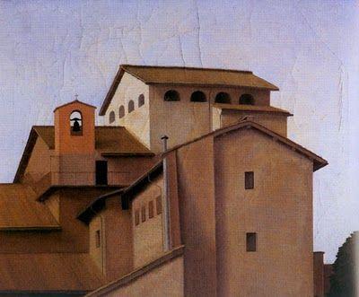 Antonio Donghi - Il convento