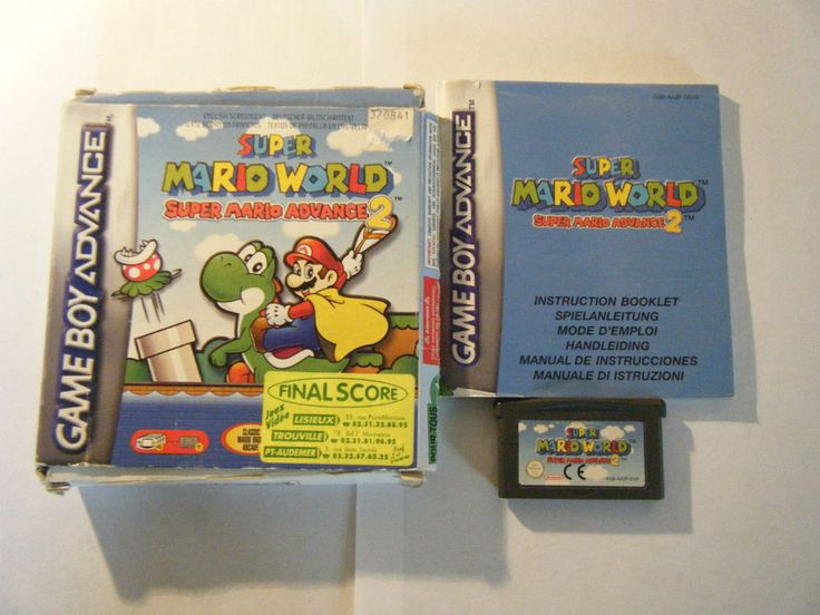 Super Mario Advance 2 - Nintendo Game Boy Advance - Complet - Occasion - PAL