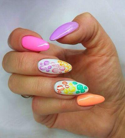http://andreeamaria.com/20-spring-easter-nails-ideas-2015/ nails sprins colour, pastel
